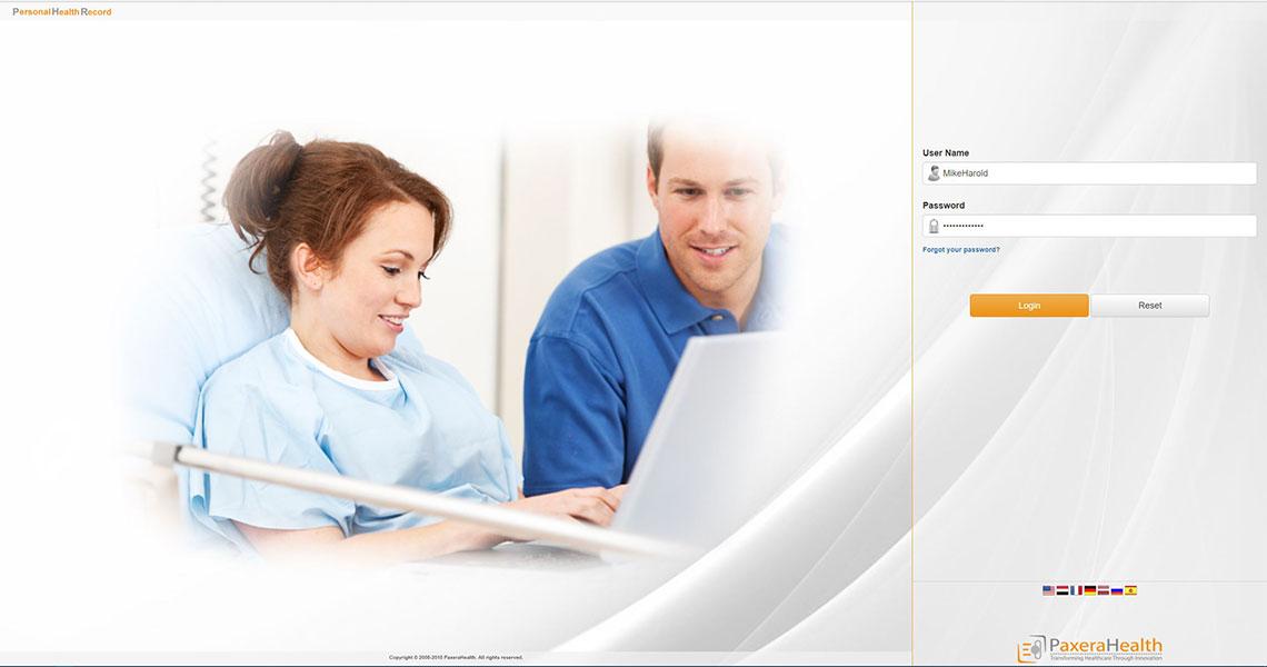 Paxera Patient Portal Key Features